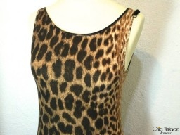 Vestido Leopardo JUST CAVALLI