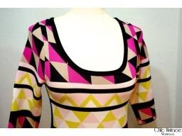 Vestido Geometrico PINKO