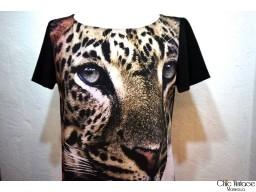 Vestido Leopardo MOSCHINO