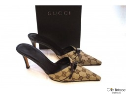 Mules Canvas GUCCI