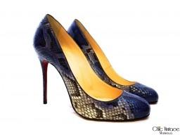 Zapatos LOUBOUTIN Pitón