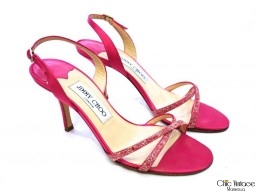 Sandalias Rosa Chicle  JIMMY CHOO