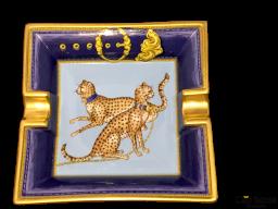 Cenicero porcelana de Paris ROYAL HUNT