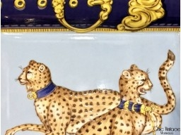 Cenicero porcelana de Paris ROYAL HUNT