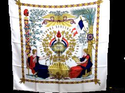 Pañuelo HERMES Constitución 1789