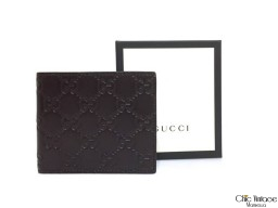 Cartera GUCCI Marrón chocolate