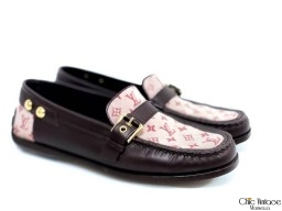 Mocasines LOUIS VUITTON  Monogram Rosa