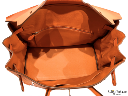 Bolso HERMÈS BIRKIN 35 Orange