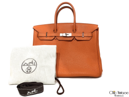 Bolso HERMÈS BIRKIN 35 Orange