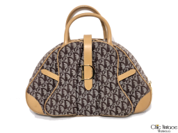 Bolso mano CHRISTIAN DIOR Doble Saddle