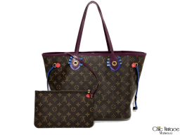 Bolso LOUIS VUITTON Neverfull Totem