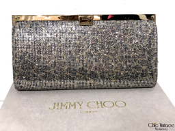 Bolso Clutch JIMMY CHOO con Palletes