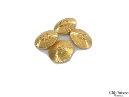 Gemelos CHANEL Metal Dorado