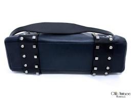 Bolso CELINE Cuero Bitono Azul / Negro