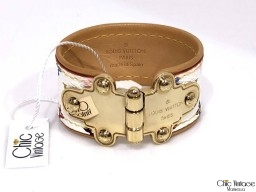 Pulsera LOUIS VUITTON SAVE IT (articulo pre-amado)