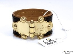 Pulsera LOUIS VUITTON SAVE IT Monogram (articulo pre-amado)