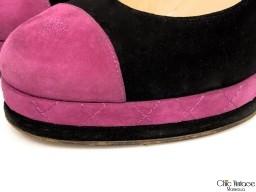 Zapatos CHANEL Ante Bicolor (articulo pre-amado)
