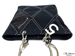 Bolso Tela y Cuero CHANEL Shopping