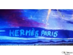 Pañuelo 40x40 HERMÈS   'Feux du ciel'