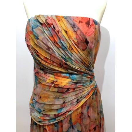Vestido Vintage BLUGIRL Seda