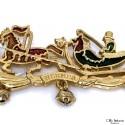 Broche HERMES Chariot