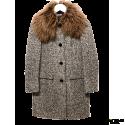 Abrigo ¾ MIU MIU Tweed