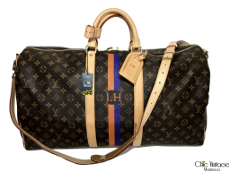 Bolsa de LOUIS VUITTON KEEPALL 55