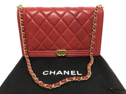 CHANEL Cartera Boy WOC