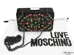 Clutch Vintage LOVE MOSCHINO