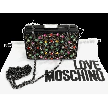 Clutch Vintage LOVE MOSCHINO