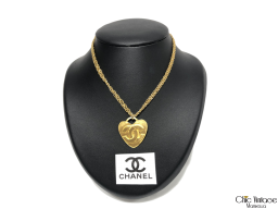 Collar Metal Dorado CHANEL