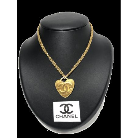 Collar Metal Dorado Vintage CHANEL