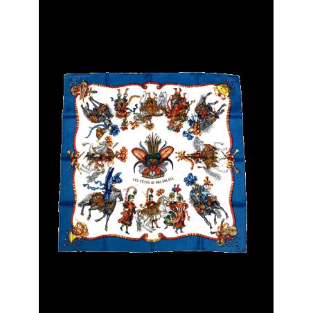 Pañuelo Vintage HERMÈS Roi Soleil