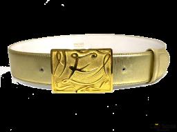 Cinturón Vintage ESCADA Dorado