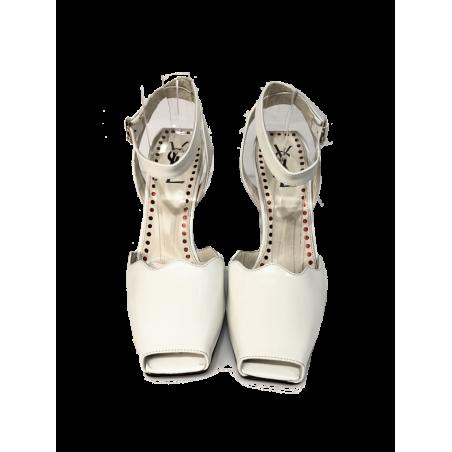 Sandalia Peep Toes Vintage YSL
