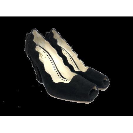 Zapatos Peep Toes Vintage YSL