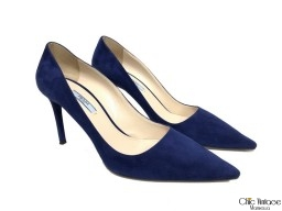 Stiletto PRADA Azul Real