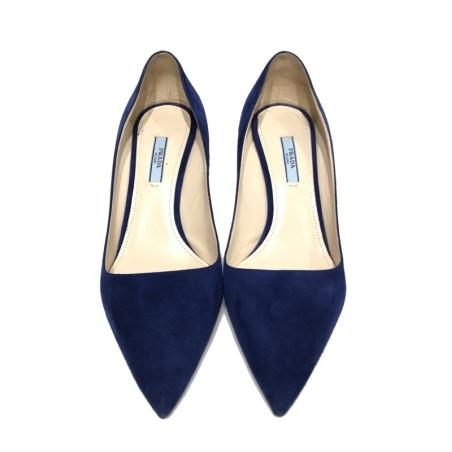 Stiletto PRADA Azul Real