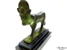 BRONCE EGIPCIO 'DEHESA ATHOR'