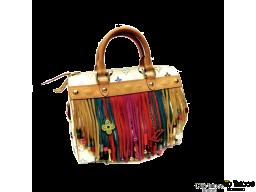 Bolso LOUIS VUITTON Fringe Speedy Multicolor